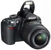 Nikon D3100 kit NIKKOR 18-55mm f/3.5-5.6G AF-S VR DX