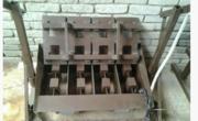 Станок на-4 блока для производства шлакоблоков