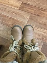 зимние обуви стиль и цвет см. фото